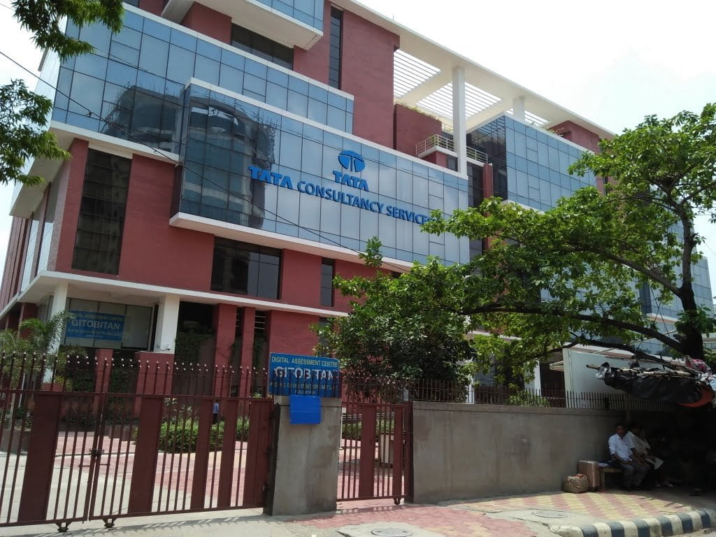 TCS office building