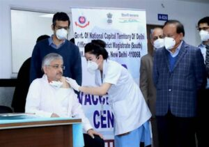 India vaccine drive launched
