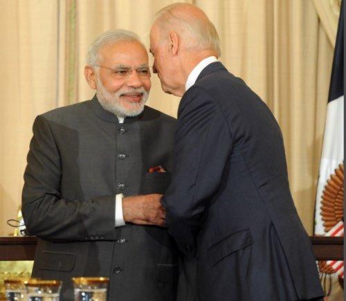 Joe Biden India