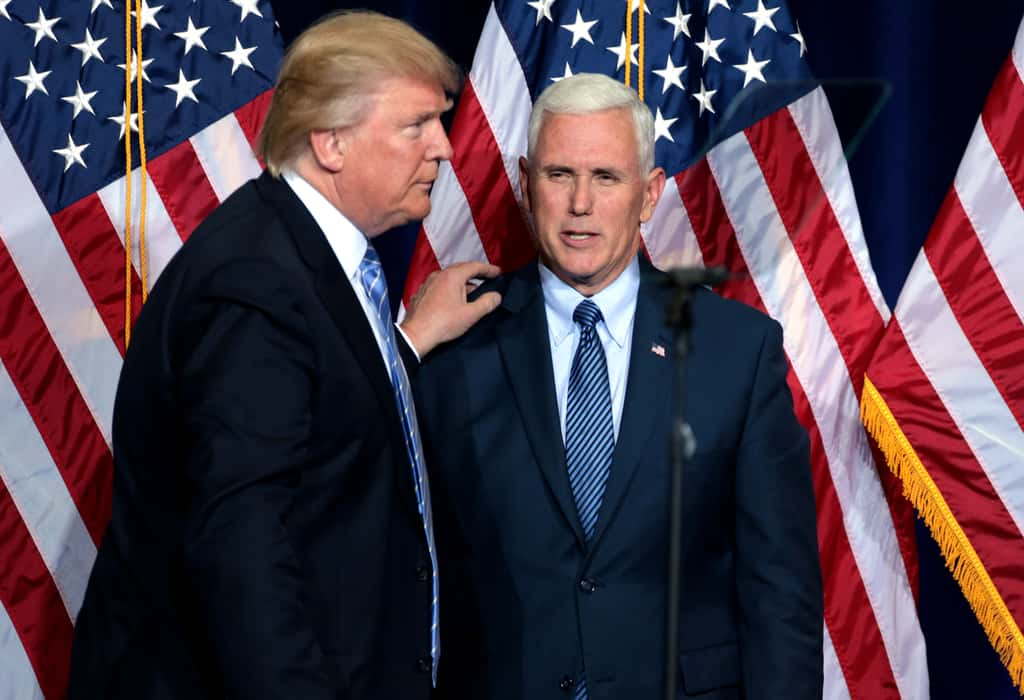 Trump and Pence photo