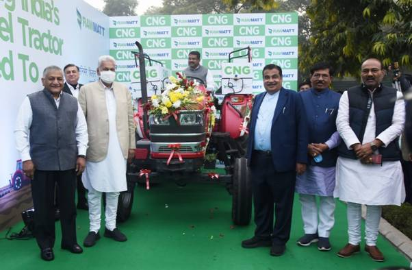 India's first CNG tractor