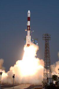 PSLV launches satellites