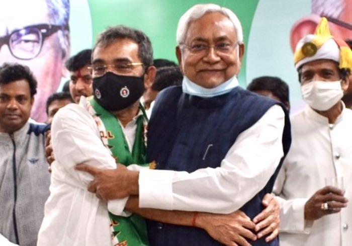 Nitish Kushwaha bromance