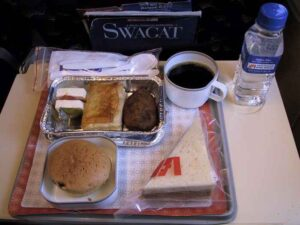 meal services on flights