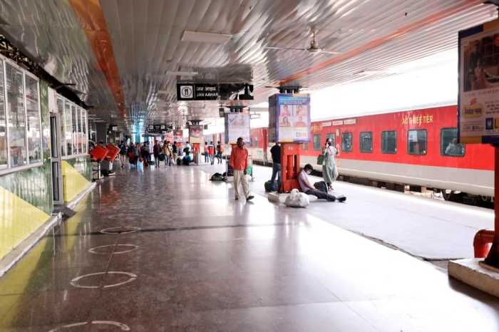 train services amid Covid-19
