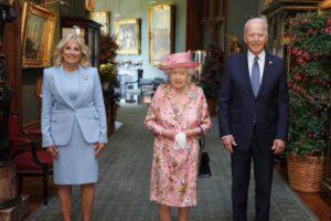 Biden British Queen