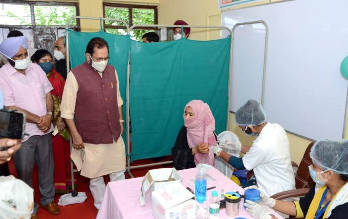83 lakh vaccinated