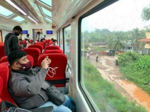 Vistadome coaches Western Ghats